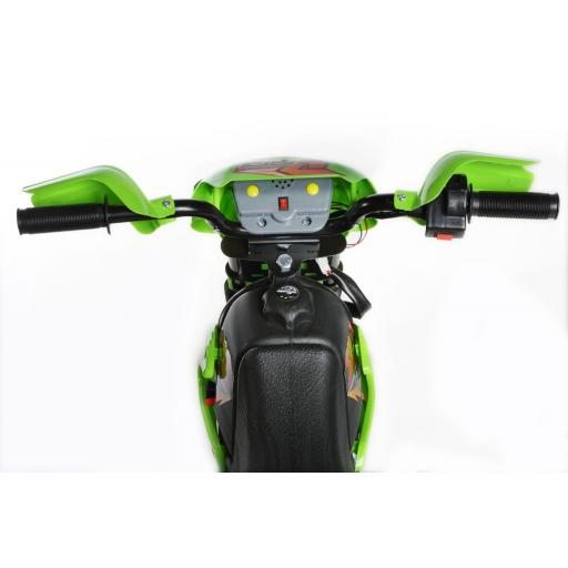 Mini Motocross 6v Kids Ride On Bike Battery Powered Green